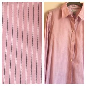 Hudson-Room Non-Iron Stretch Fitted Adjuste Shirt
